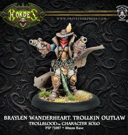 Privateer Press Braylen Wanderheart, Trollkin Outlaw