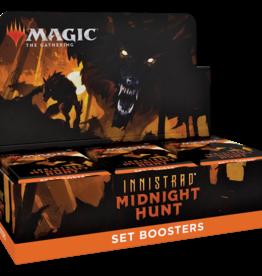 Wizards of the Coast MtG Innistrad: Midnight Hunt Set Booster Display (EN)