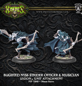 Privateer Press Nyss Strider Officer and Muscian