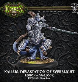 Privateer Press Kallus, Devastation of Everblight