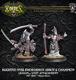 Privateer Press Blighted Swordsmen Abbott and Champion