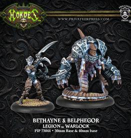 Privateer Press Bethane, Voice of Everblight & Belphagor