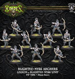 Privateer Press Blighted Nyss Archers/Swordsmen