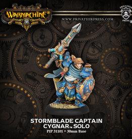 Privateer Press Stormblade Infantry Captain
