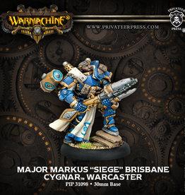 Privateer Press Major Markus Siege Brisbane