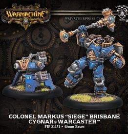 Privateer Press Colonel Markus Siege Brisbane
