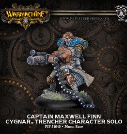 Privateer Press Captain Maxwell Fin