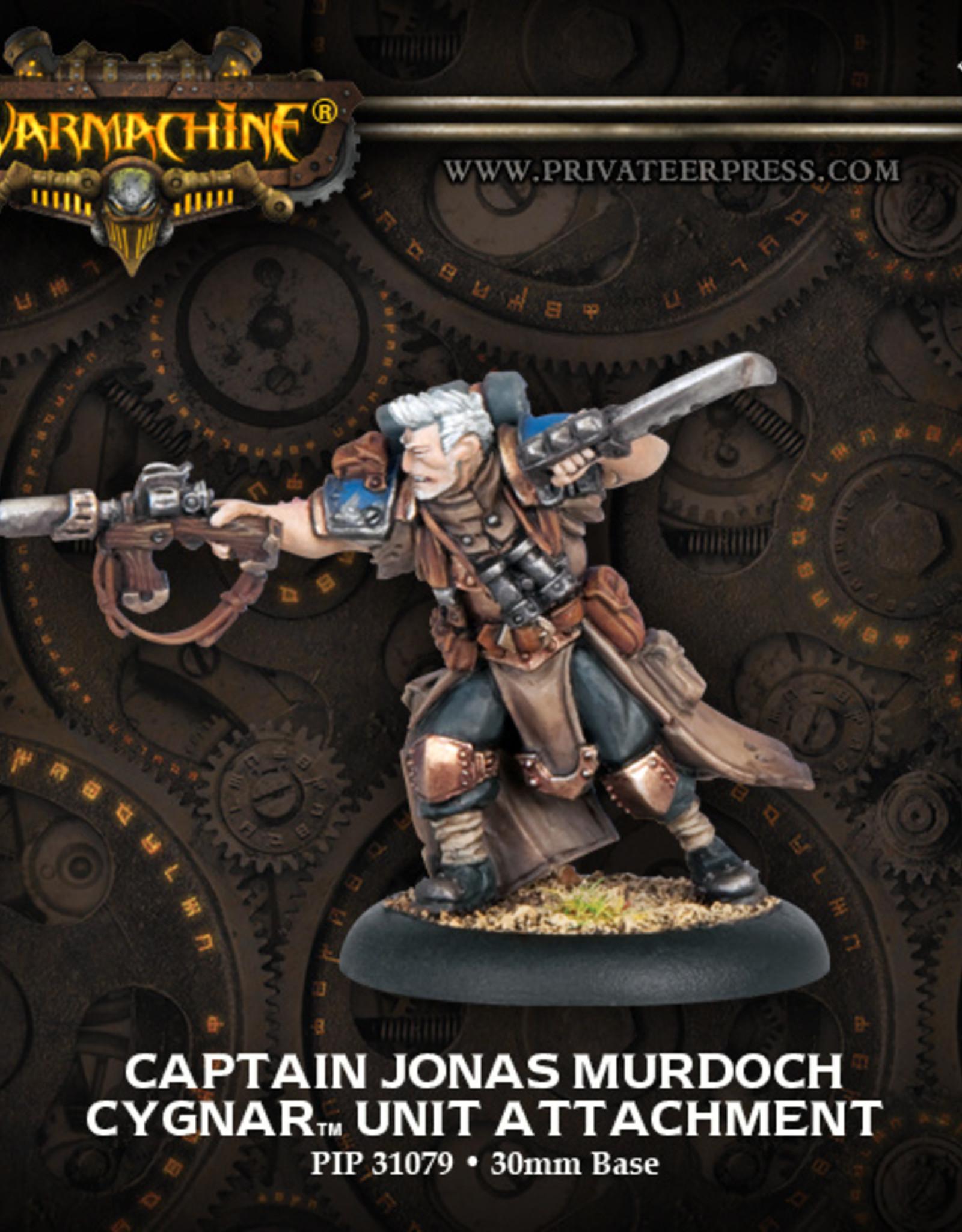 Privateer Press Captain Jonas Murdoch