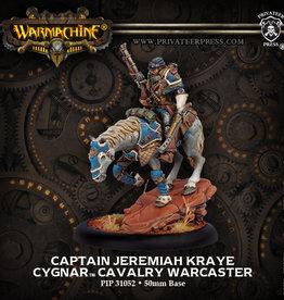 Privateer Press Captain Jeremiah Kraye