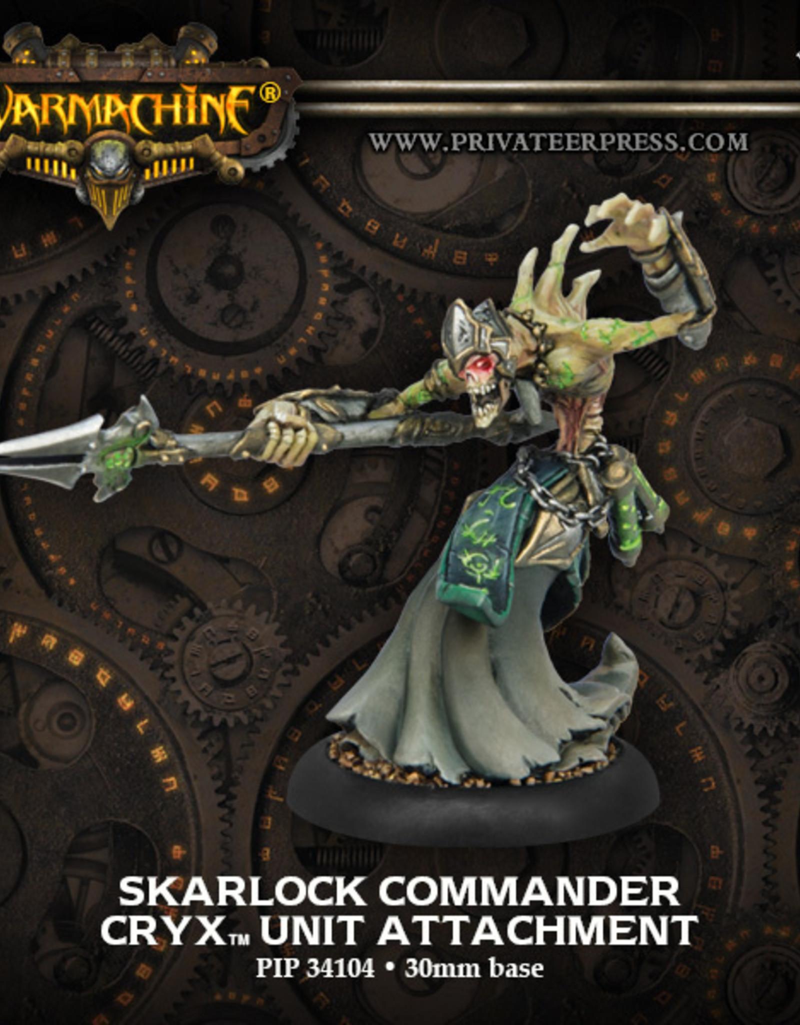 Privateer Press Skarlock Commander