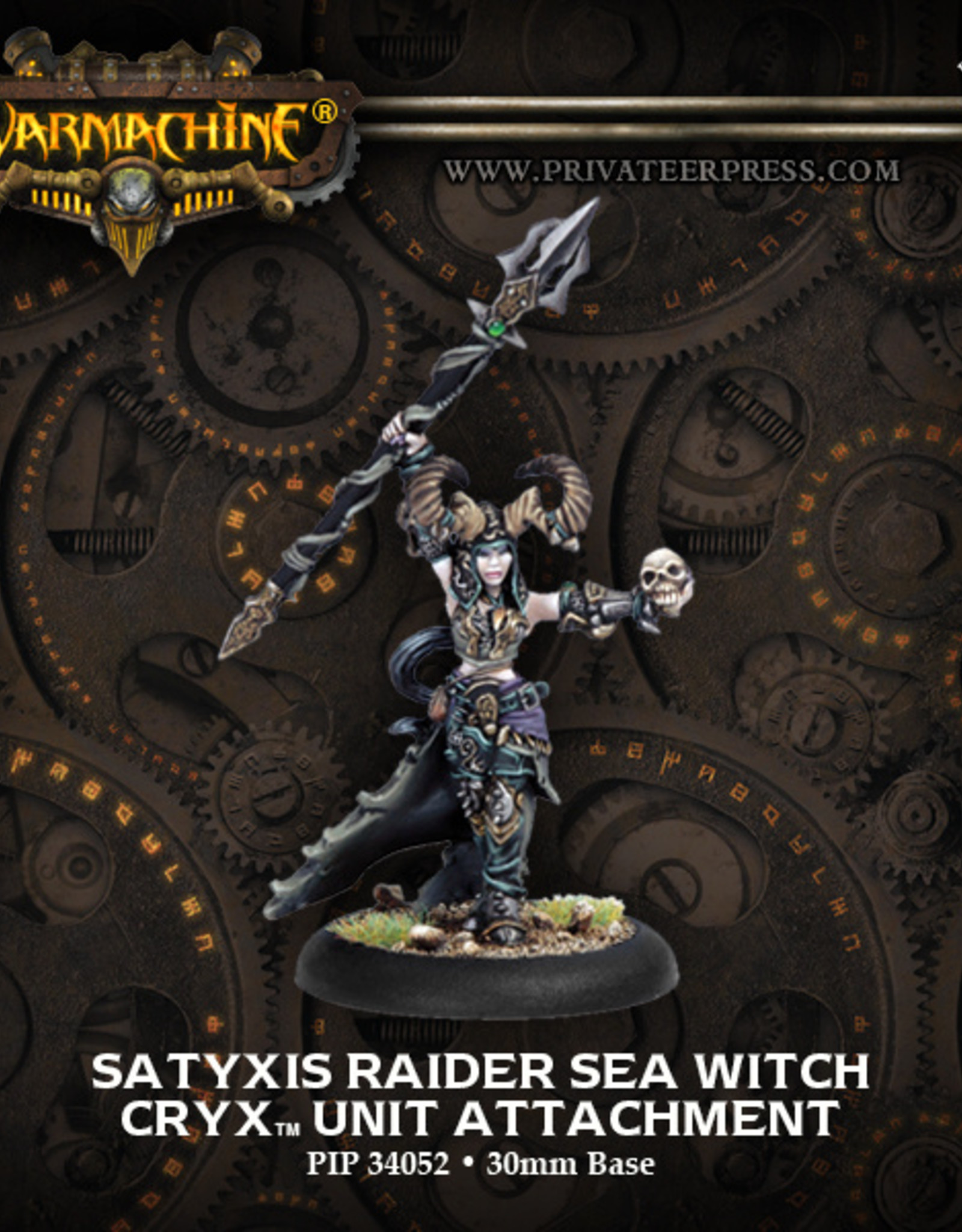 Privateer Press Satyxis Sea Witch