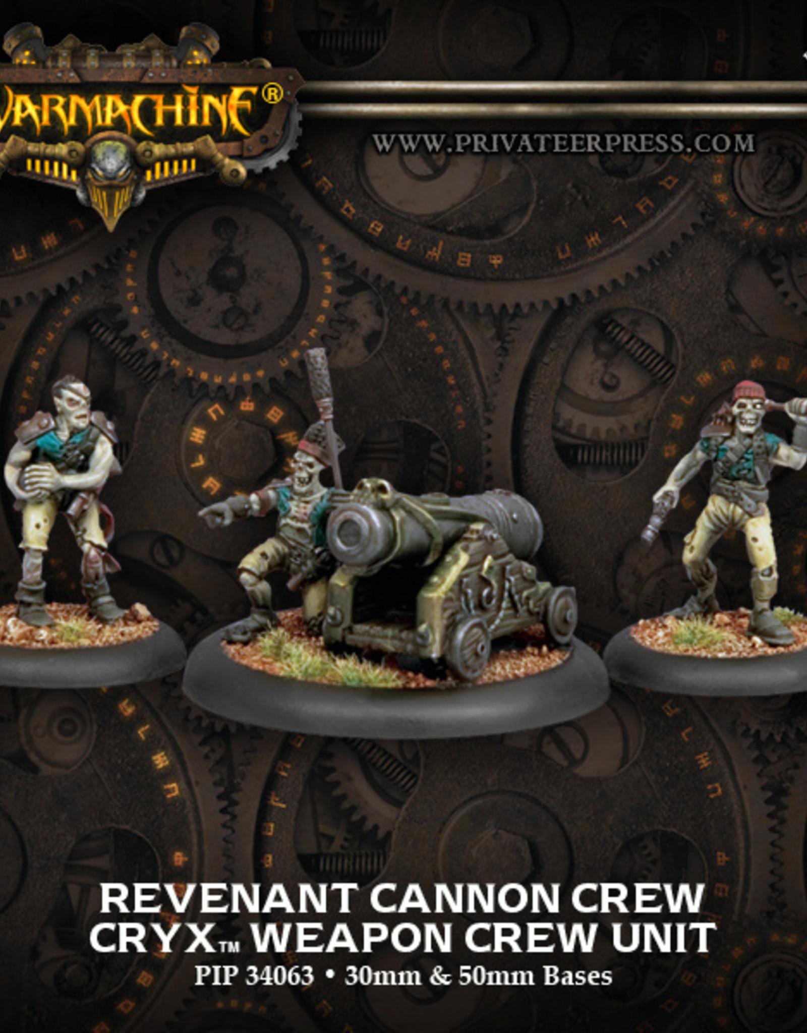 Privateer Press Revenant Cannon Crew