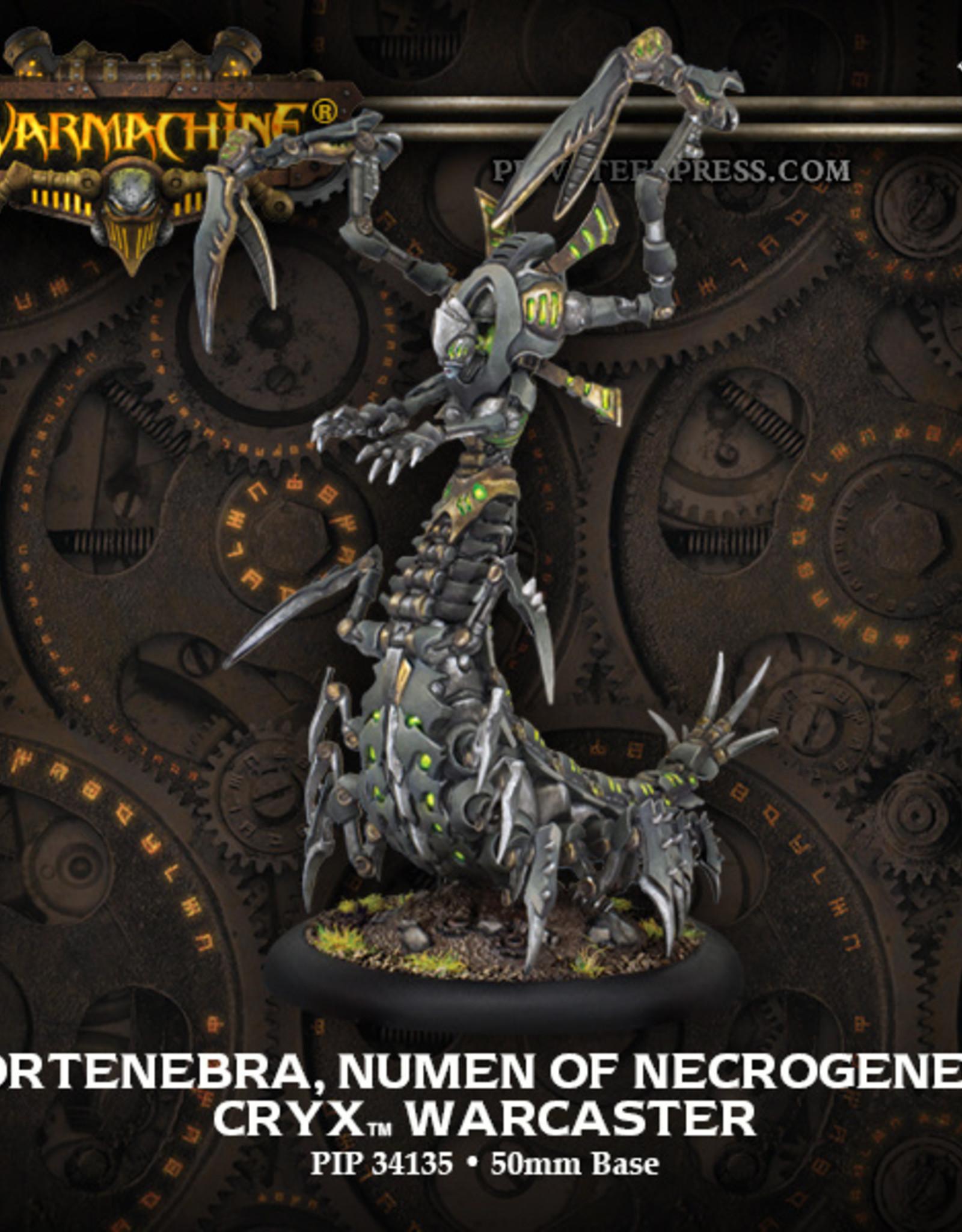 Privateer Press Mortenebra Numen of Necrogenesis