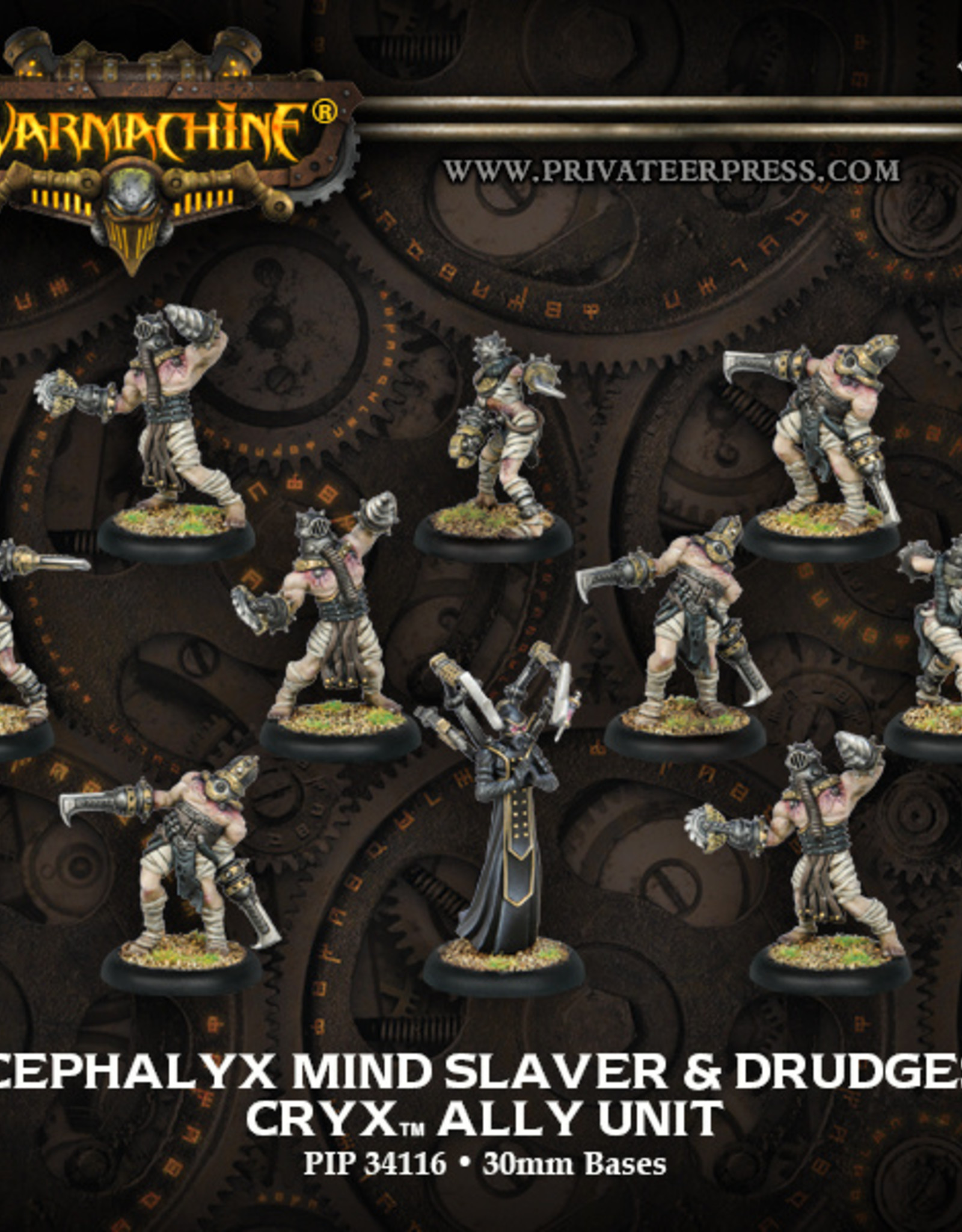 Privateer Press Cephalyx Mind Slaver & Drudges