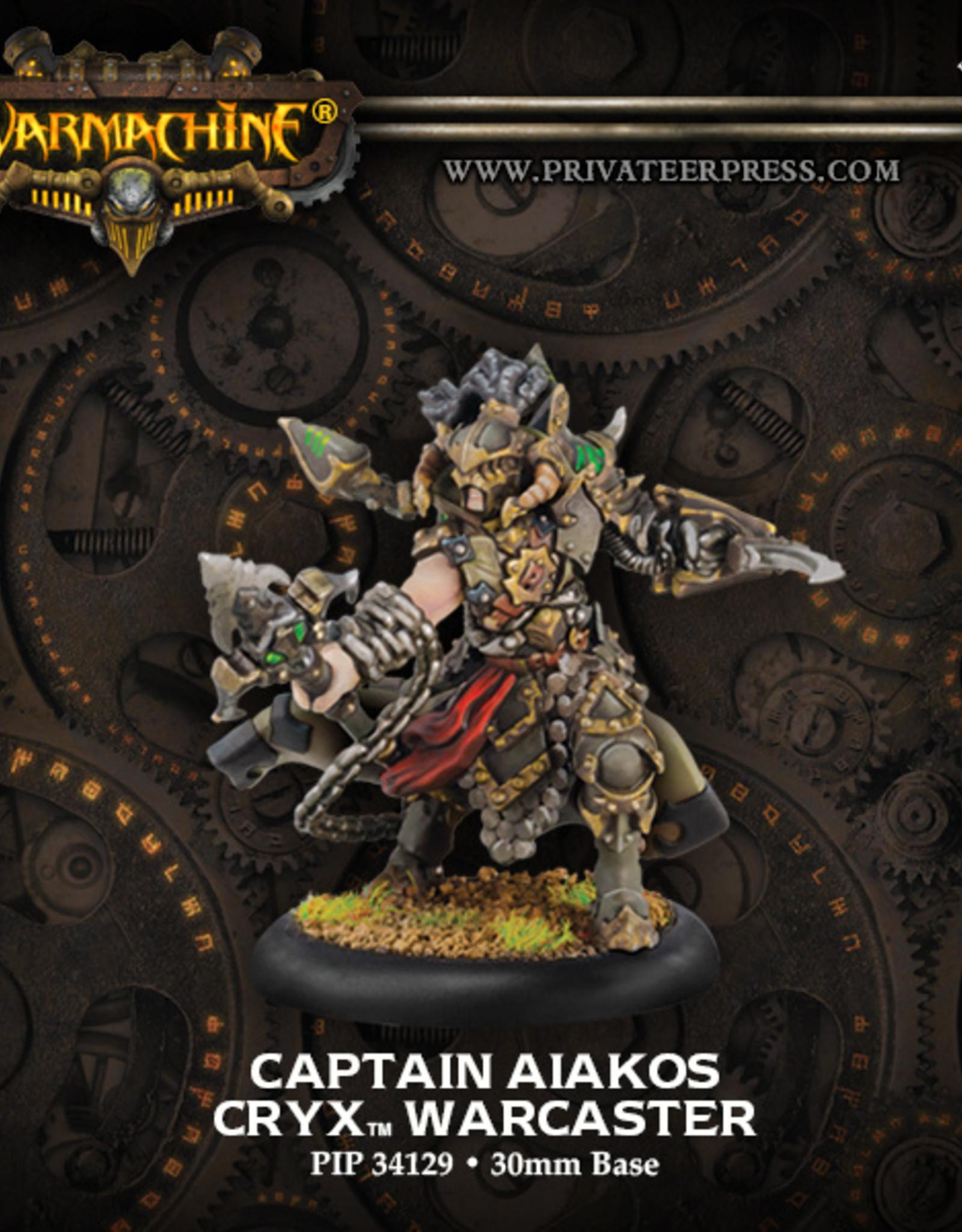 Privateer Press Captain Aiakos