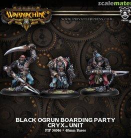 Privateer Press Black Ogrun Boarding Party