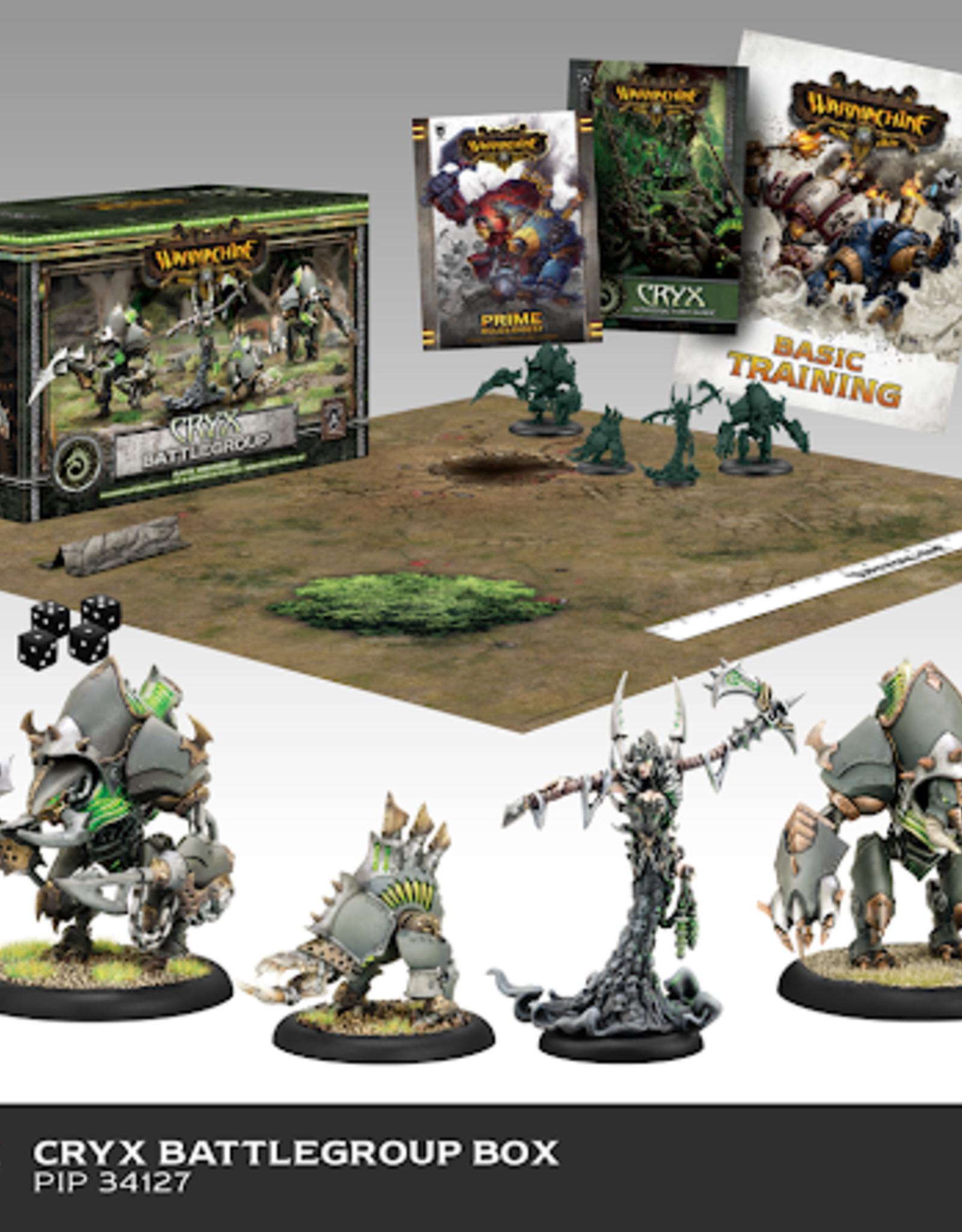 Privateer Press Cryx Battlegroup Starter Box MK3