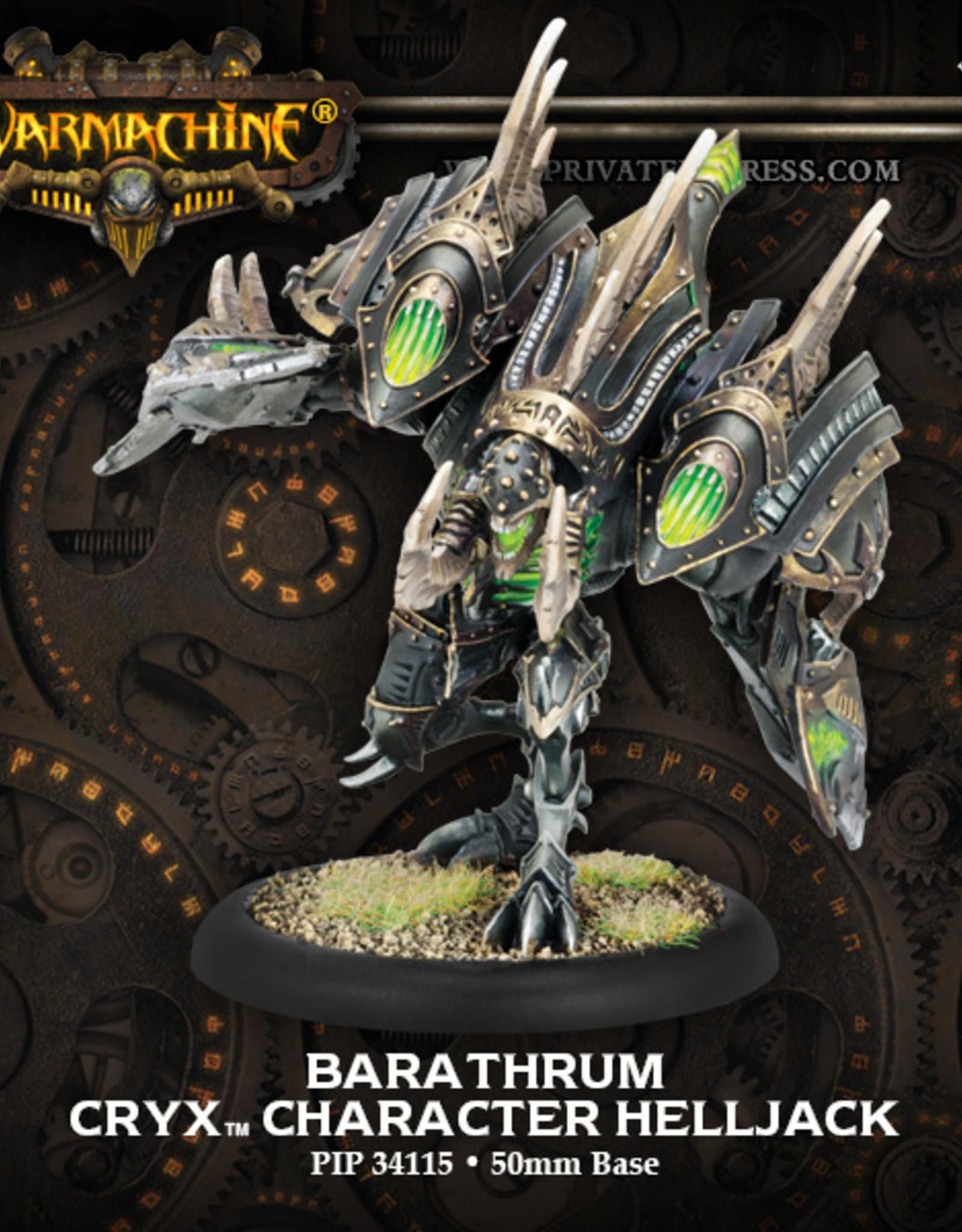 Privateer Press Barathrum