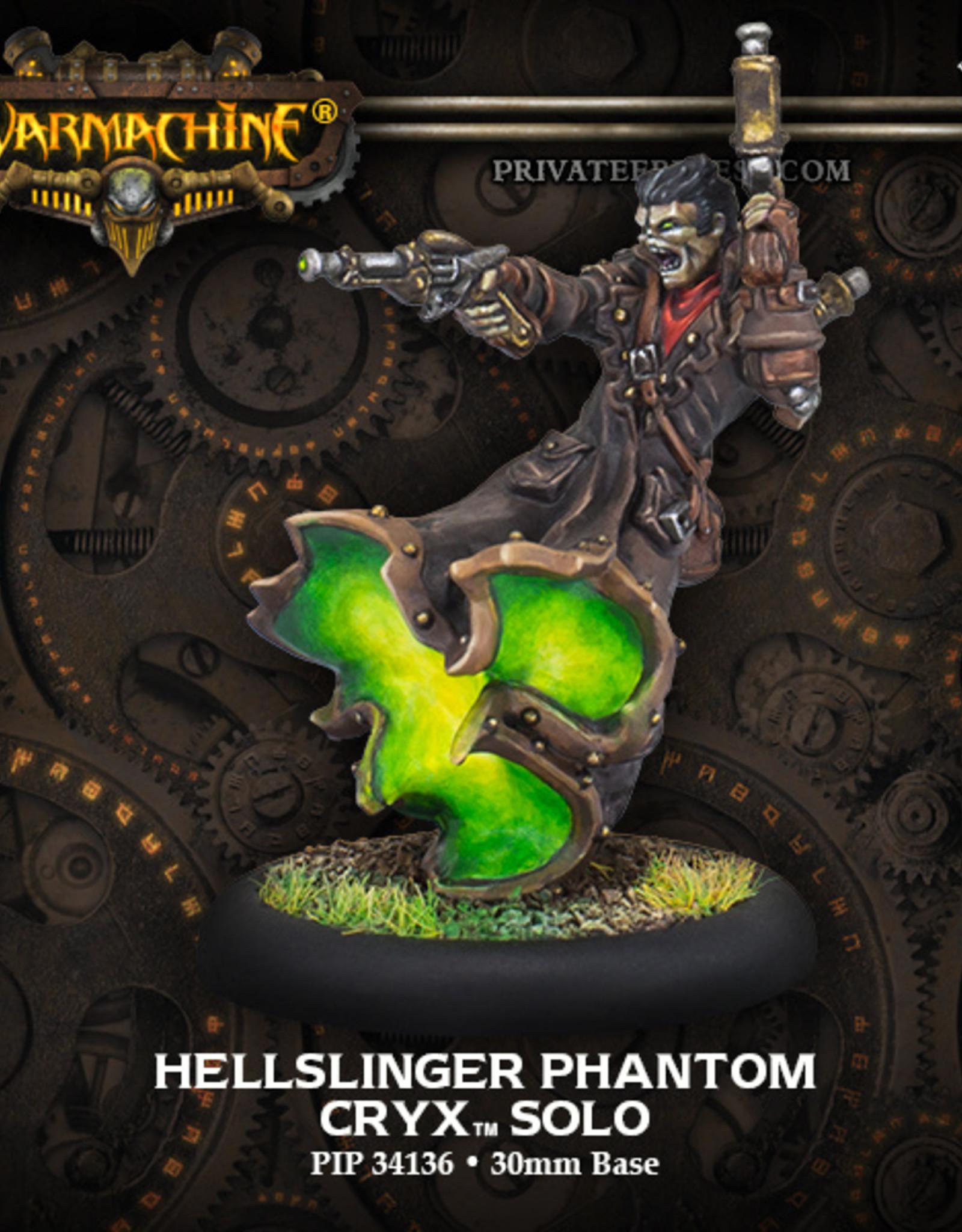 Privateer Press Hellslinger Phantom