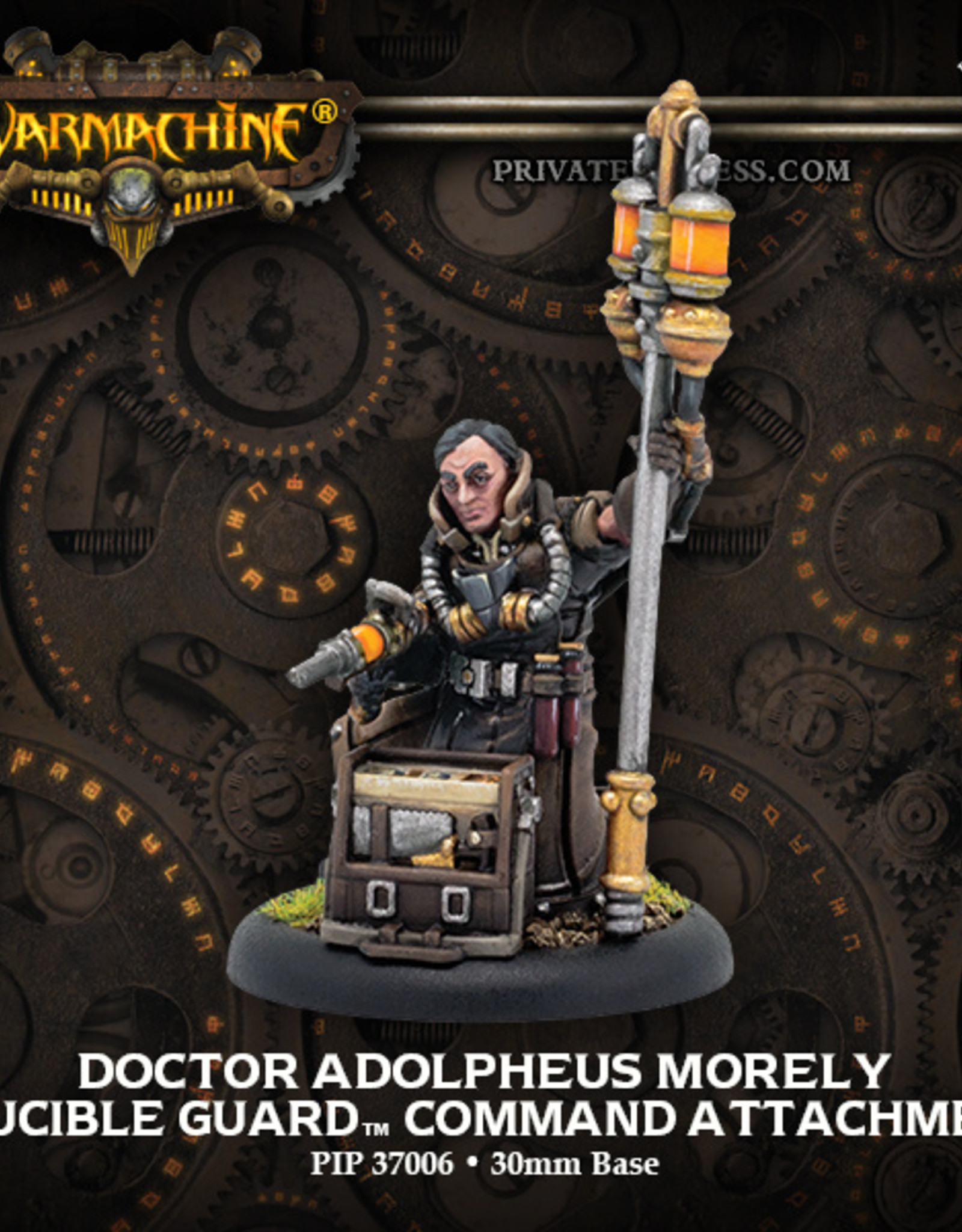 Privateer Press Doctor Adolpheus Morely