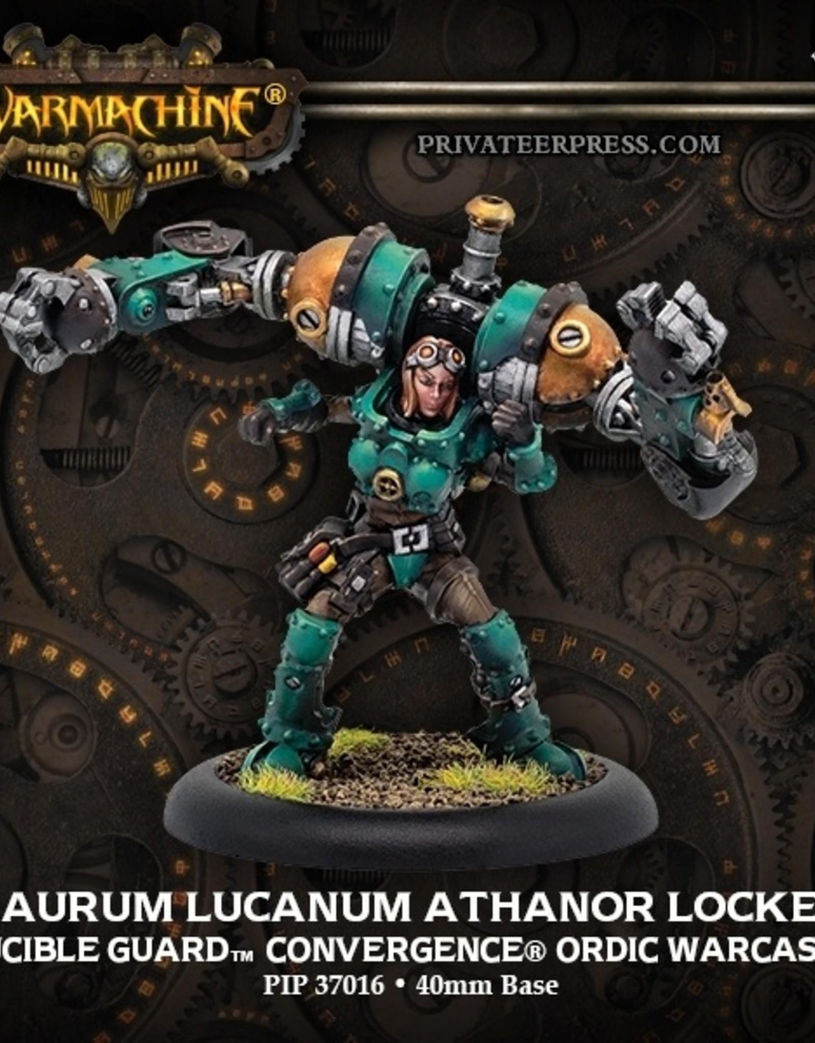 Privateer Press Aurum Lucanum Athanor Locke