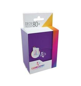 Gamegenic Deck Holder 80+ Purple