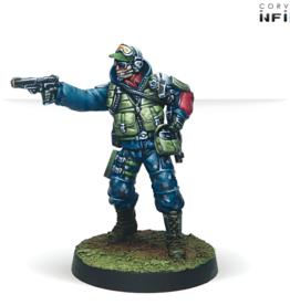 Corvus Belli Chasseurs (Rifle, Light Flamethrower)