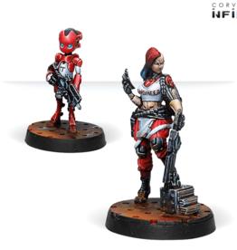 Corvus Belli Zoe & Pi-Well, Special Clockmakers Team