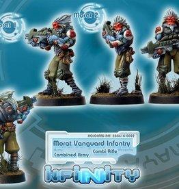 Corvus Belli Morat Vanguard Infantry (Combi-Rifle)