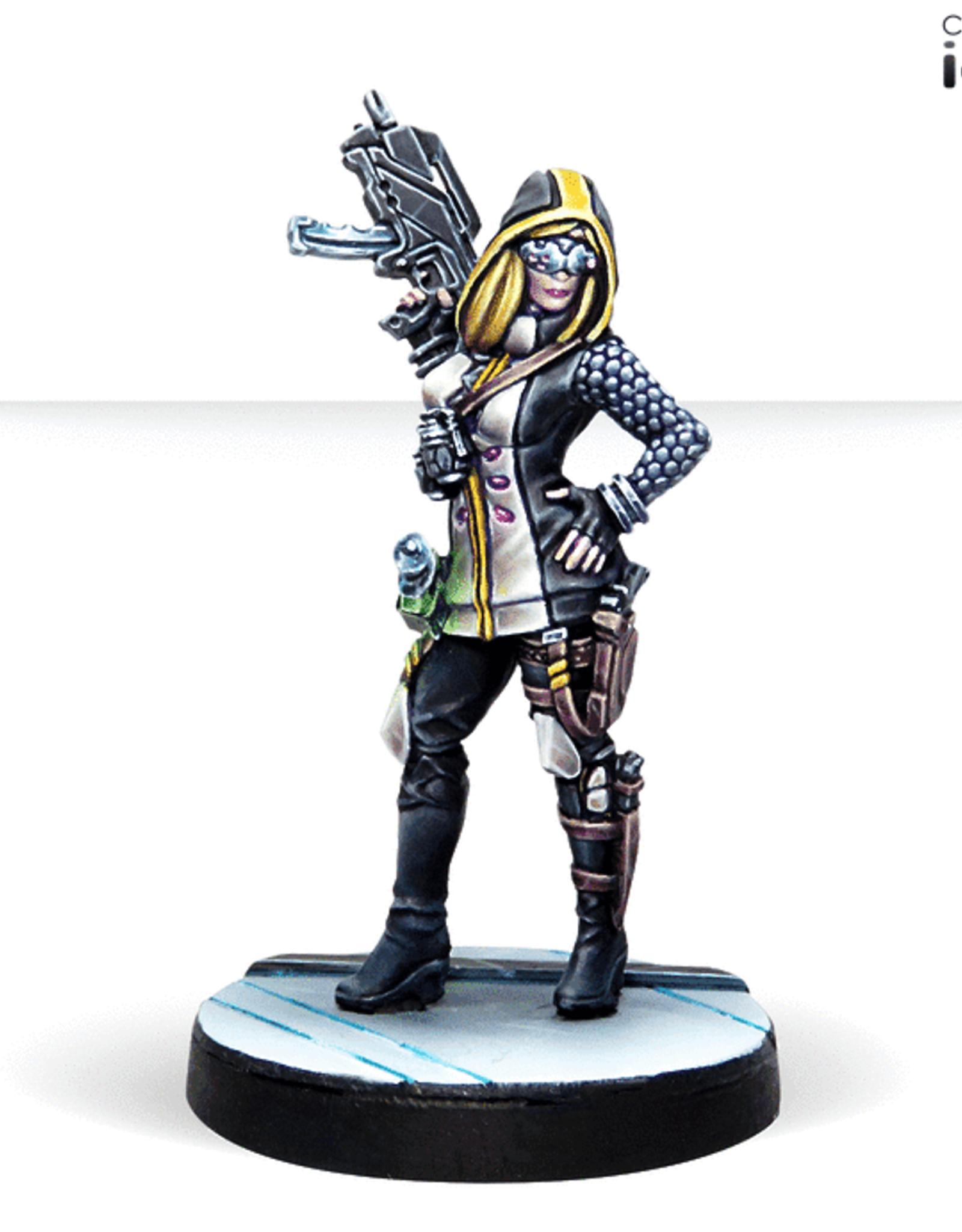 Corvus Belli Dart, Optimate Huntress (Submachine Gun)