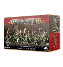 Games Workshop Orruk Warclans Savage Orruks