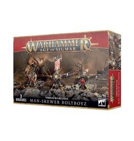 Games Workshop Orruk Warclans Man-Skewer Boltboyz