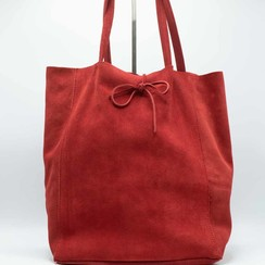 Mia - Rood - Suede