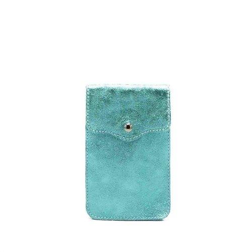 Pona - Metallic - Crossbodytassen - Blauw -