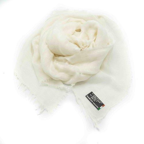 Julia -  - Plain scarves - White - Latte