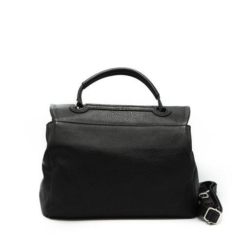 Callie - Classic Grain - Handtassen - Zwart - D28