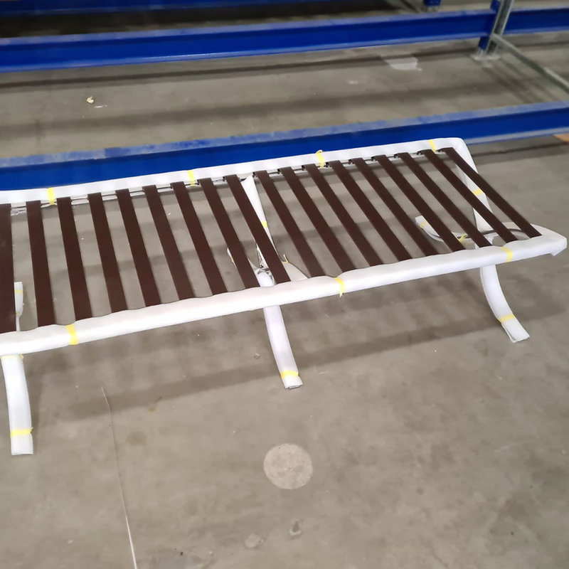 Barcelona Chair Barcelona chair Premium long stool brown