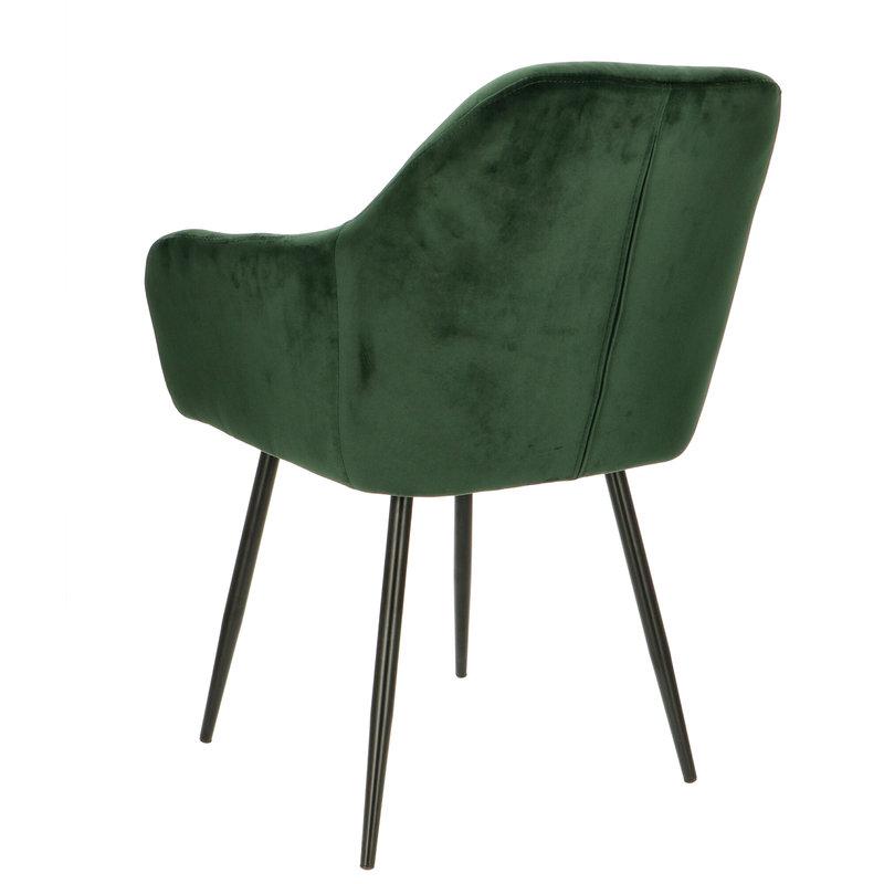 Orville velvet armchair Vinny Green