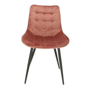Orville velvet chair Lisboa Pink