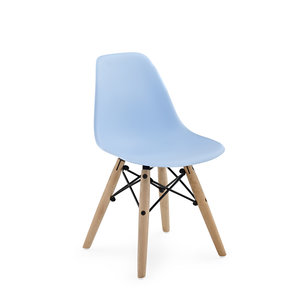 Bambini kids chair WOOD Blue