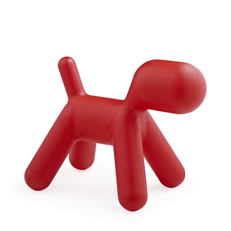 Puppy chair Red