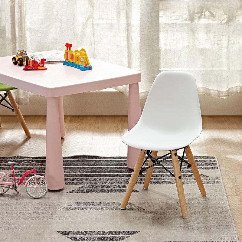 Bambini kids chair WOOD White