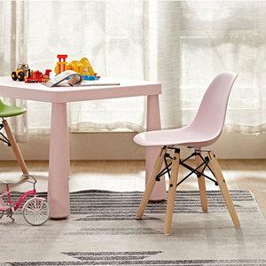 Bambini kids chair WOOD Light-Pink