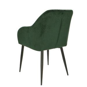 Orville velvet armchair Luca Green