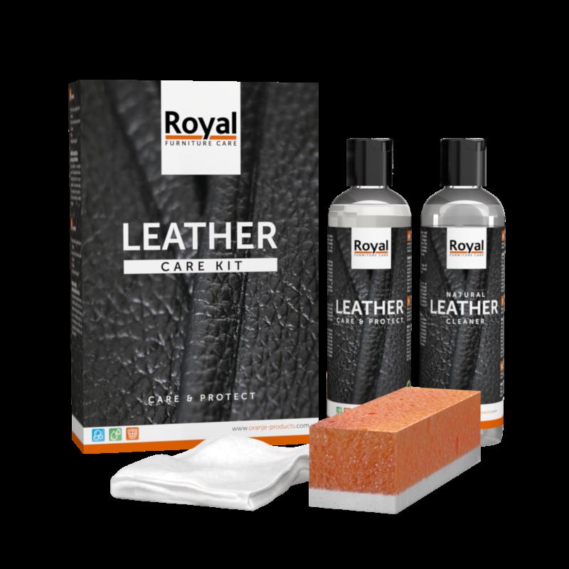 Leather care set