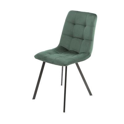Orville velvet dining chair Sofia Green