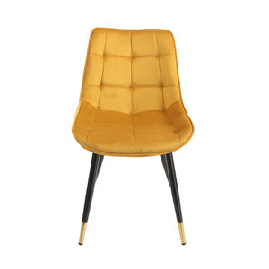 Orville dining chair Chloé Yellow