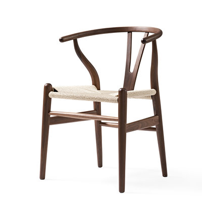 Orville Bone stoel walnoot hout