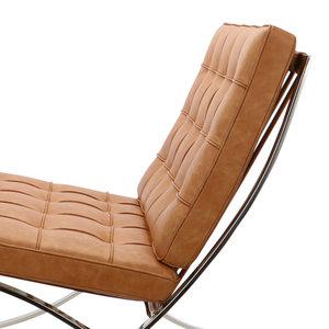 Barcelona Chair Barcelona Chair Premium Vintage Cognac