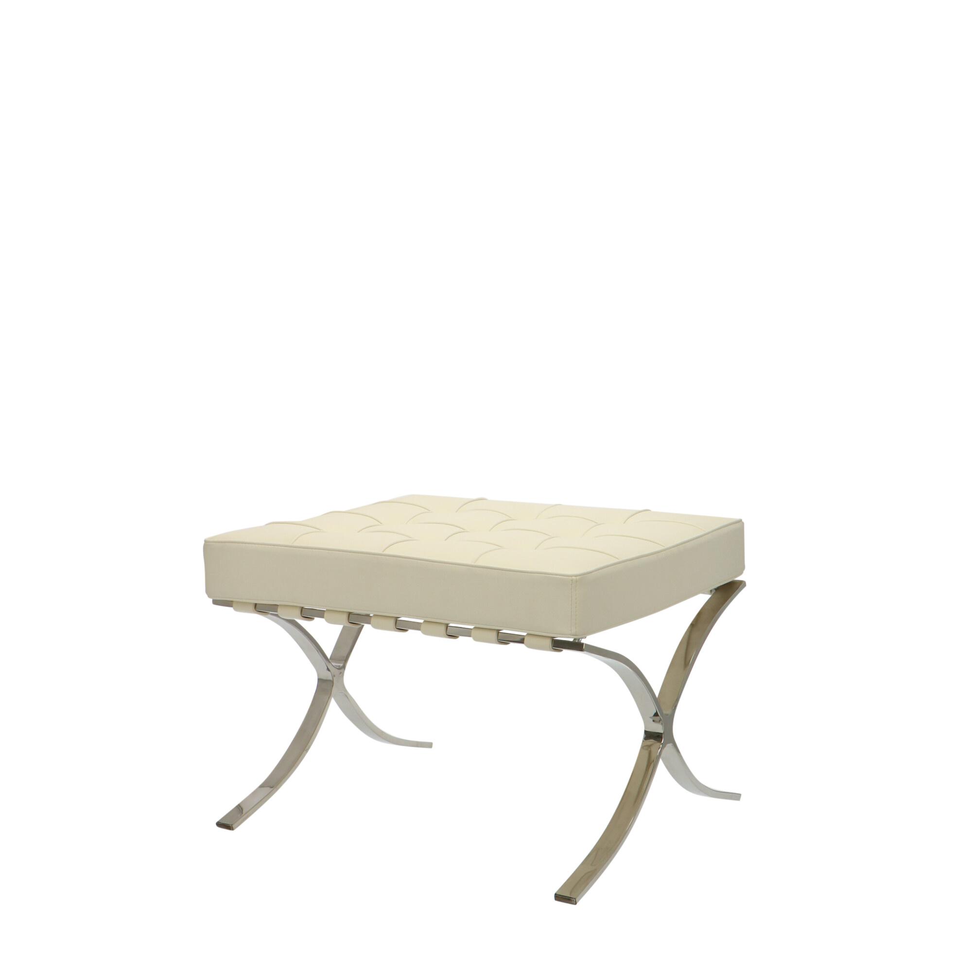 Cool Barcelona Chair Ottoman Creme Barcelonachair Nl Ibusinesslaw Wood Chair Design Ideas Ibusinesslaworg